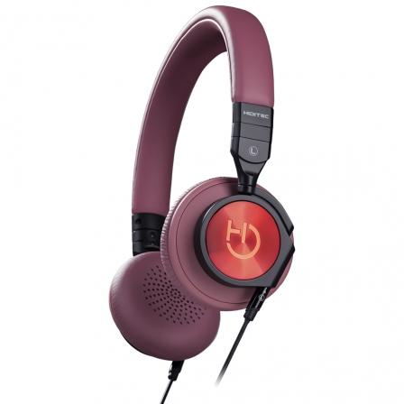 """Auricular Diadema Hiditec Aviator Brown • 103 dB • Micrófono Integrado en Cable • Conector 3.5"""""""