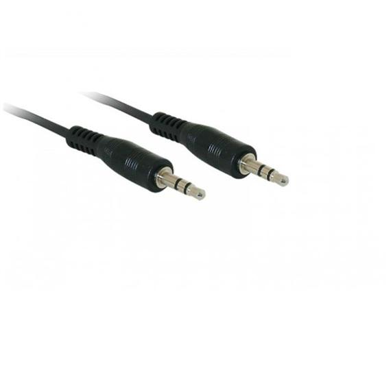 Cable Audio Jack Stereo 3,5mm. Macho - Macho • 2 Metros • Ref. 11.09.4502