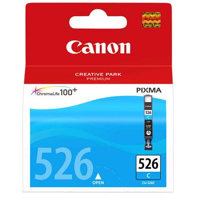 Cartucho de Tinta Cian Original Para Canon Pixma IP4850, IX6550, MG5150, MG5250, MG6150, MG8150, MX885