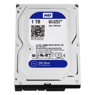 HDD-WD 1TB 3.5 BLUE