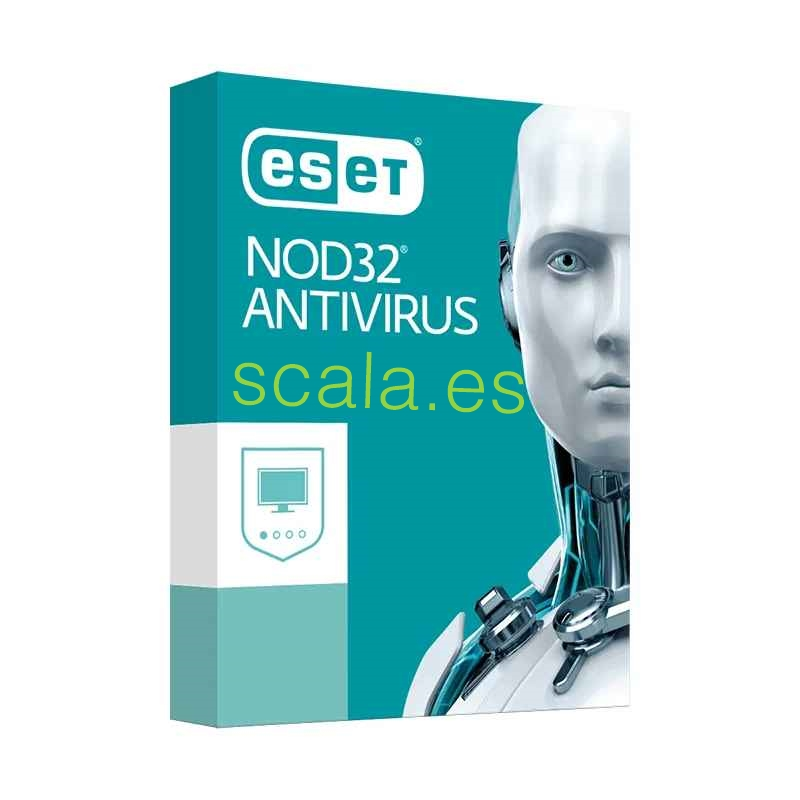 Licencia Antivirus Eset Nod32 Standard • 1 Año Actualizaciones • 1 Equipo