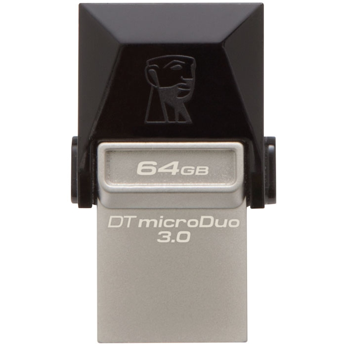 Pendrive Kingston Datatraveler Micro Duo • 32GB • Conectores USB y Micro USB • Compatible OTG • USB 3.0