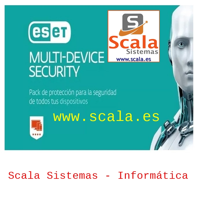 Renovación ESET Multi-Device Security (ESF) • 3 Licencias • 1 Año