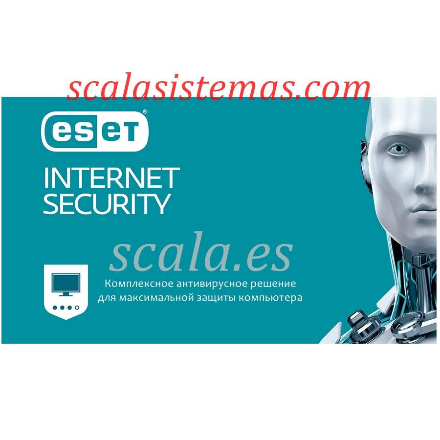 Renovación Licencia Antivirus Eset Nod32 Internet Security (EIS) • 1 Año Actualizaciones • 1 Equipo