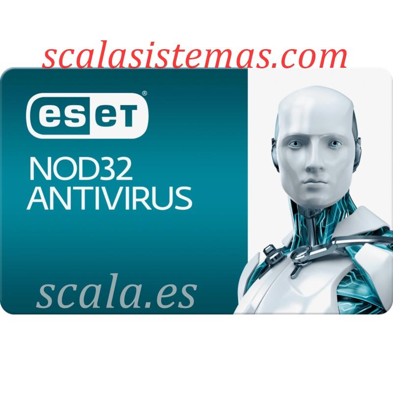 Renovación Licencia Antivirus Eset Nod32 Standard (EAS) • 1 Año Actualizaciones • 4 Equipos