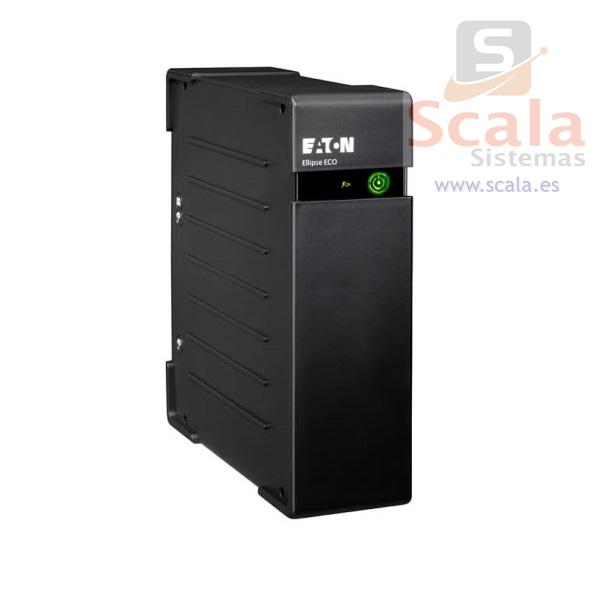 SAI Eaton Ellipse ECO 650 DIN - 650VA - 400 Vatios - 3 Sckuko Batería + 1 Sckuko Protección - EL650DIN