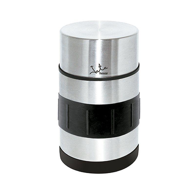 Termo Para Sólidos Jata 827 - 750ML - Doble Pared Acero Inox - Silicona en Base y Zona de Agarre - Cierre Hermético - Tapa Con Rosca
